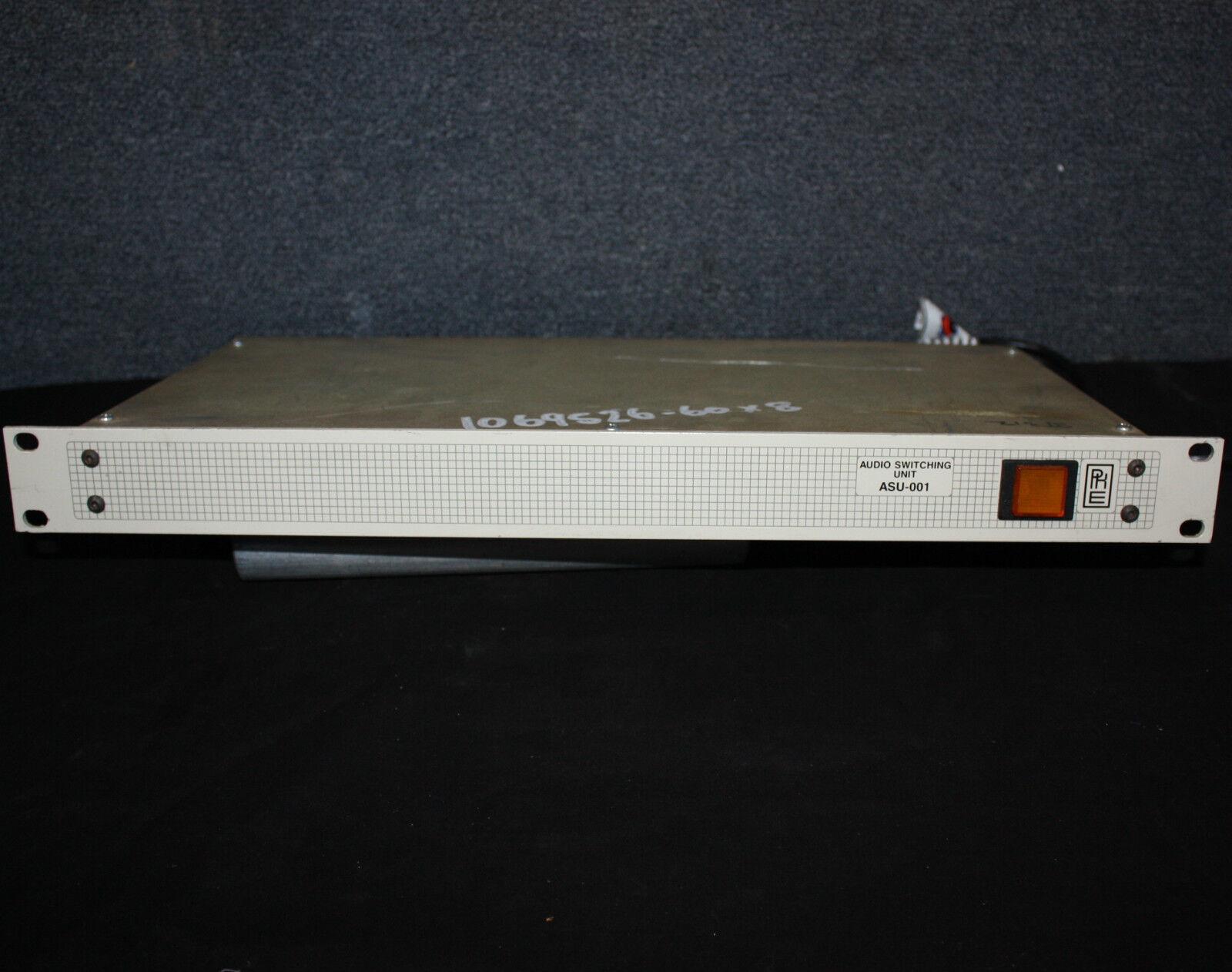 Unidad de conmutación de audio audio audio PKE ASU-001 conmutador de audio de 20 vías de relé de montaje en rack 357a24