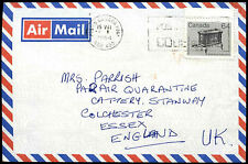 Canada 1984 Commercial Air Mail Cover To UK #C38572