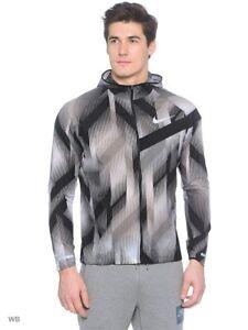 5780bb2956f2 Nike Impossibly Light Men s Running Jacket Full Zip Hoodie Packable ...