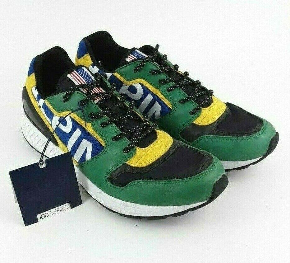 Kleidung & Accessoires Sneaker New Mens Polo Ralph Lauren Black