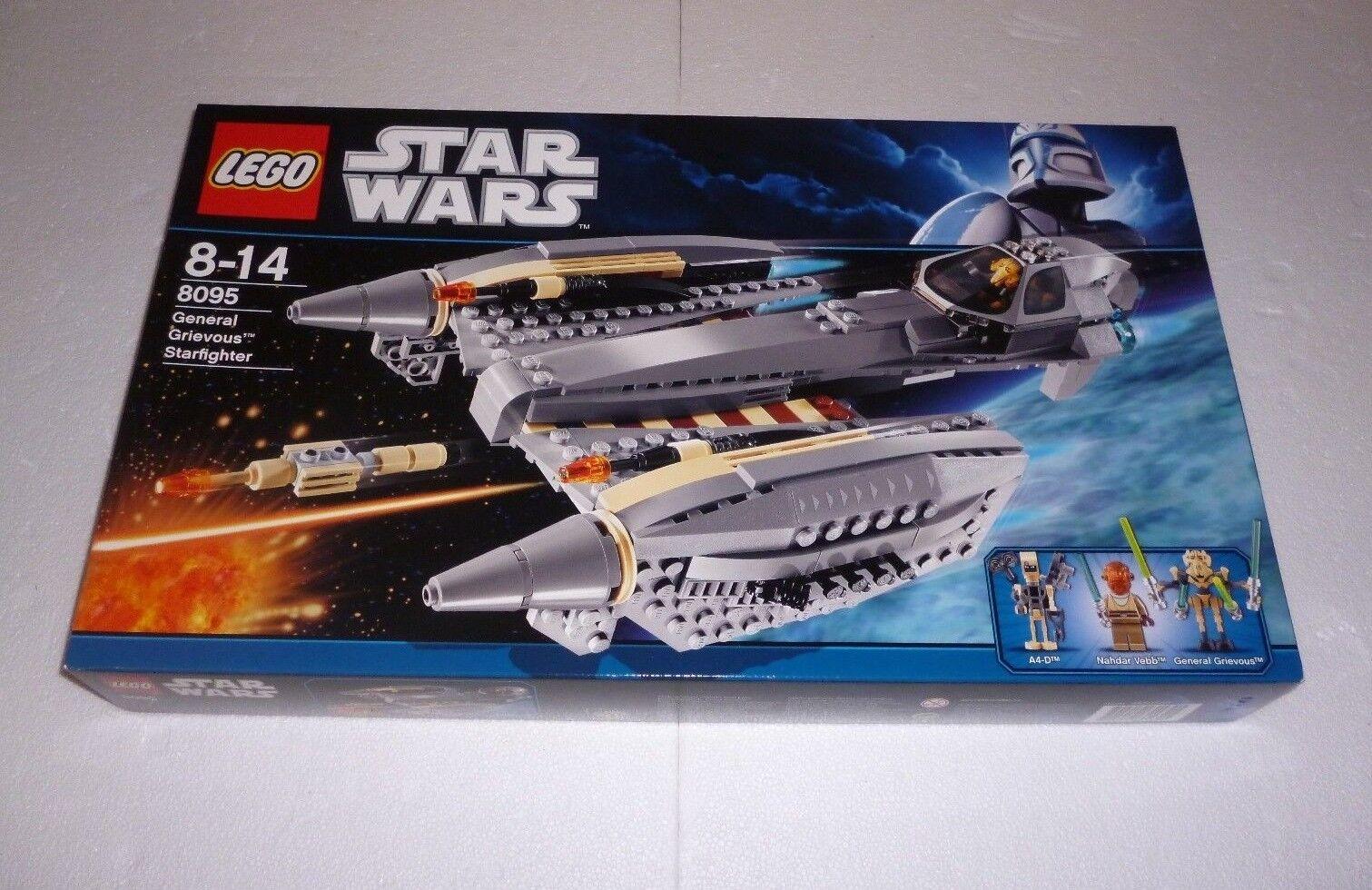 LEGO StarWars General Grievous' Starfighter (8095) NEU / NEW OVP