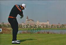 Peter UIHLEIN SIGNED 12x8 Photo AFTAL Autograph COA Golf BMW Shanghai Masters
