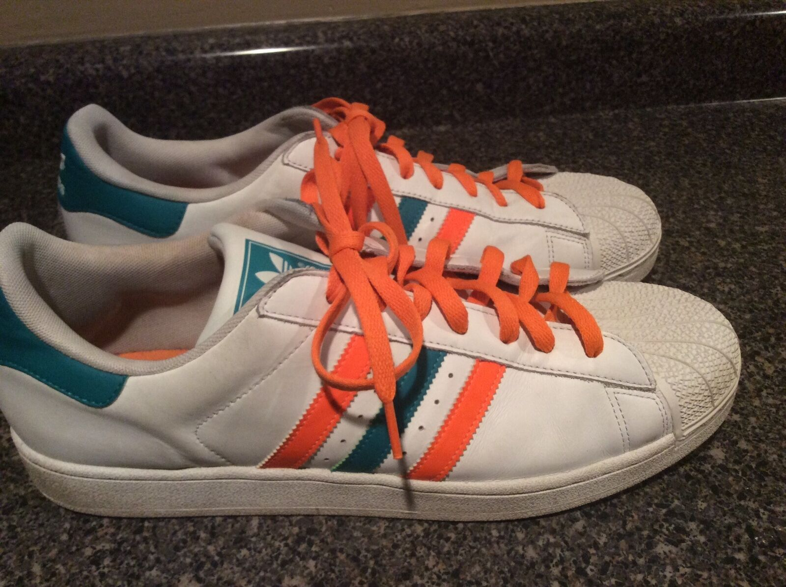 Adidas Miami Hurricanes Leather Mens Comfortable The most popular shoes for men and women