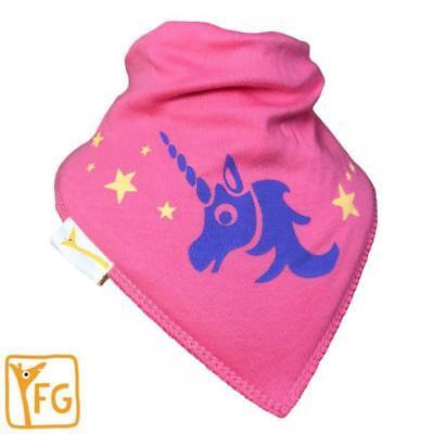 Funky Jirafa audaz Babero Unicornio Rosa ** compre 4 lleve 1 Gratis ** 5 por £ 11.96
