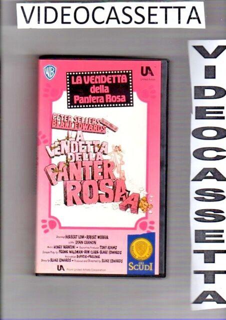 LA VENDETTA DELLA PANTERA ROSA - VHS