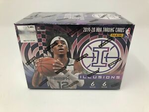 2019-20-Panini-Illusions-Basketball-Blaster-Box-SEALED-NEW