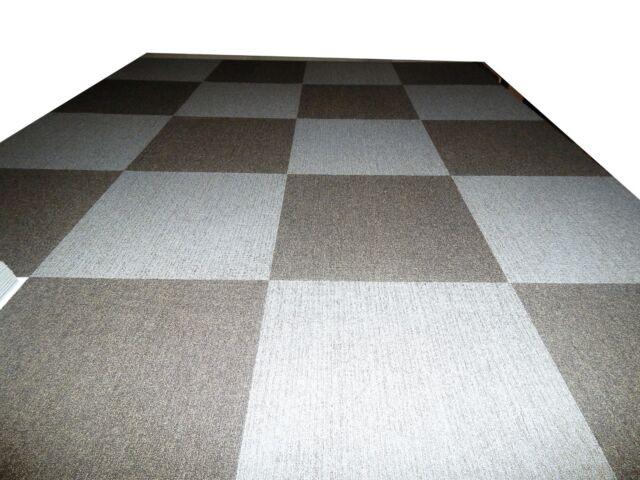 Carpet Tile 288 S F Commercial Grade 100 Nylon 24 X 24 For Sale Online