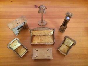 Kit De Construction Maison De Poupées Salon Job Lot Miniature Furniture-afficher Le Titre D'origine Convient Aux Hommes Et Aux Femmes De Tous âGes En Toutes Saisons