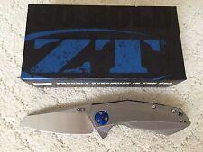 New Zero Tolerance ZT 0456 Sinkevich KVT Manual Folding Knife CPM-20CV Steel