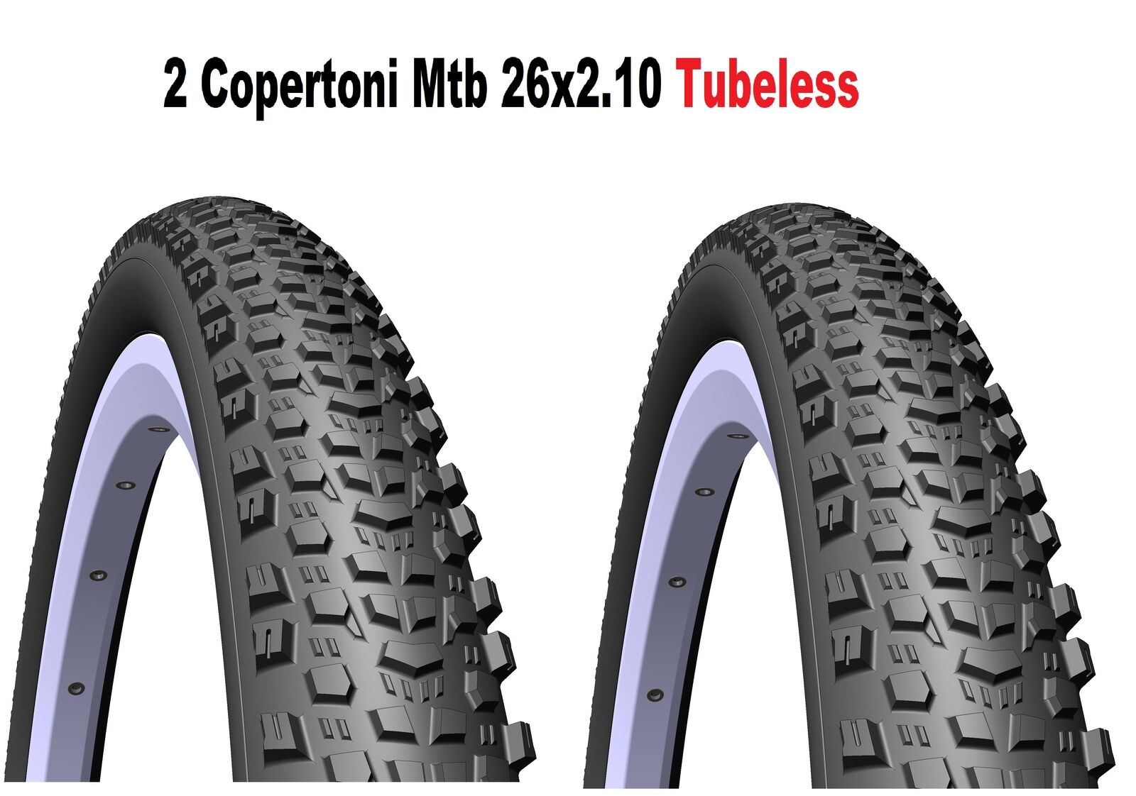 2 Copertoni Mtb 26 Per Bici Bici Bici Da Bicicletta Mitas Scylla Tubeless Supra 26x2.10 | Intelligente e pratico  | Cheapest  ba36d1