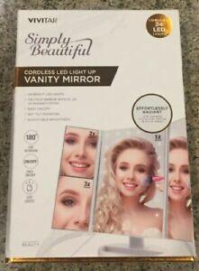 Vivitar Simply Cordless Led Vanity Mirror Hard To Find