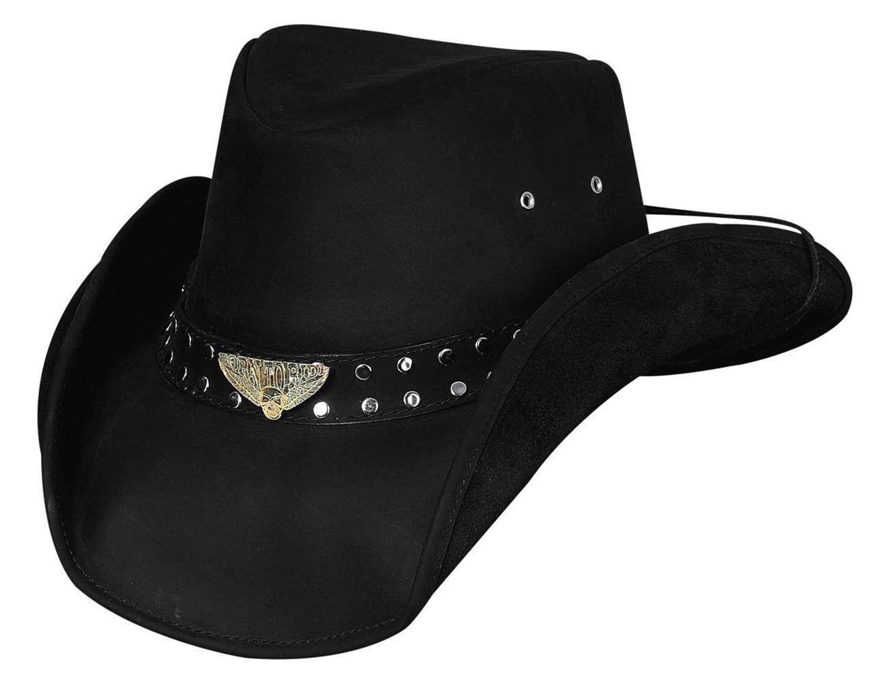 NEW Montecarlo Bullhide Hats BORN to RIDE Rock n n n Roll LEATHER Western Cowboy Hat 62a7dd
