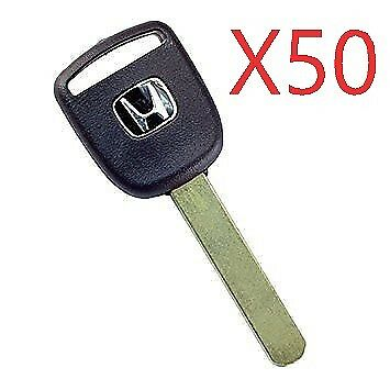 2  Transponder Key Blank 46  Chip Honda Acura HO03
