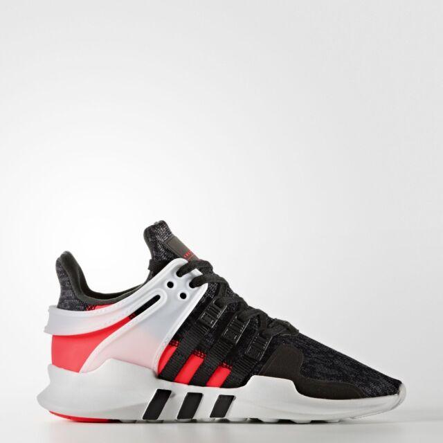 bdee83dc7 ADIDAS EQT Soporte ADV J Infantil Zapatillas Talla UK 4-6 Zapato Negro Run
