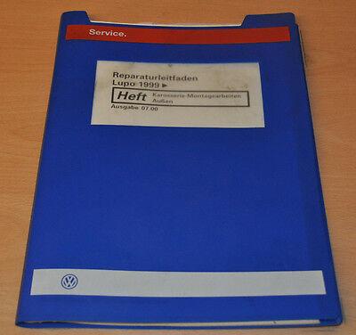 Beschouwend Vw Lupo 1999 Karosserie Montagearbeiten Außen Werkstatthandbuch Leitfaden