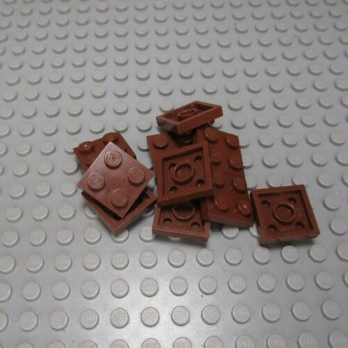 Qty 10 #3022 LEGO 2x2 Plate Pick Your Color