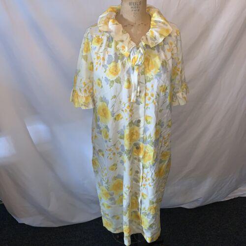 loungees Vintage Day dress Sleep Dress Robe With P