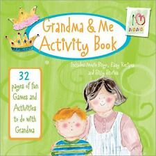 Grandma & Me Activity Book: 32 Pages of Fun Games and Activities to Do with Gran