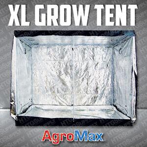 4-x-8-GROW-TENT-Mylar-Cabinet-Box-Hut-Hydro-Home-Room-Light-Dark-Silver-Oasis