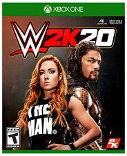 WWE 2K20 -- Standard Edition (Microsoft Xbox One, 2019)