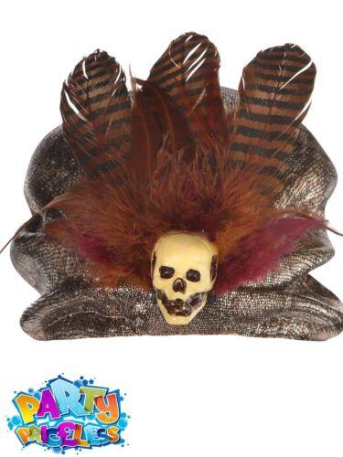 Adult Voodoo Witch Doctor Fancy Dress Mens Ladies Halloween Costume Accessories