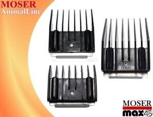 3 aufsteckk mme 5 9 13mm f r moser max 45 max 50 class45 class50aufsteckkamm ebay. Black Bedroom Furniture Sets. Home Design Ideas