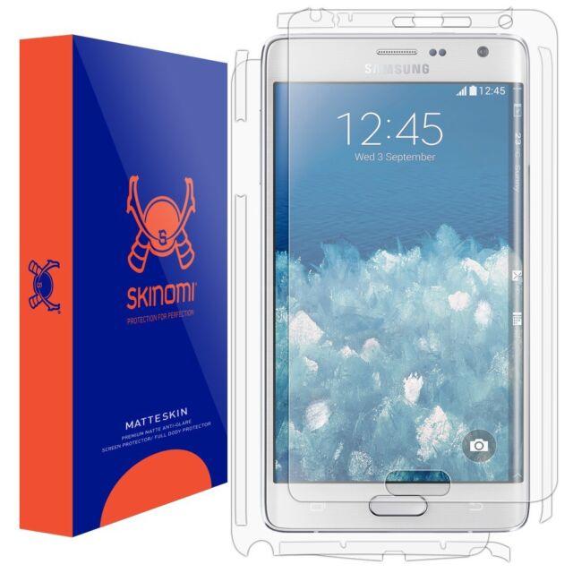 Skinomi Full Body (MATTE) Skin+Screen Protector for Samsung Galaxy Note Edge