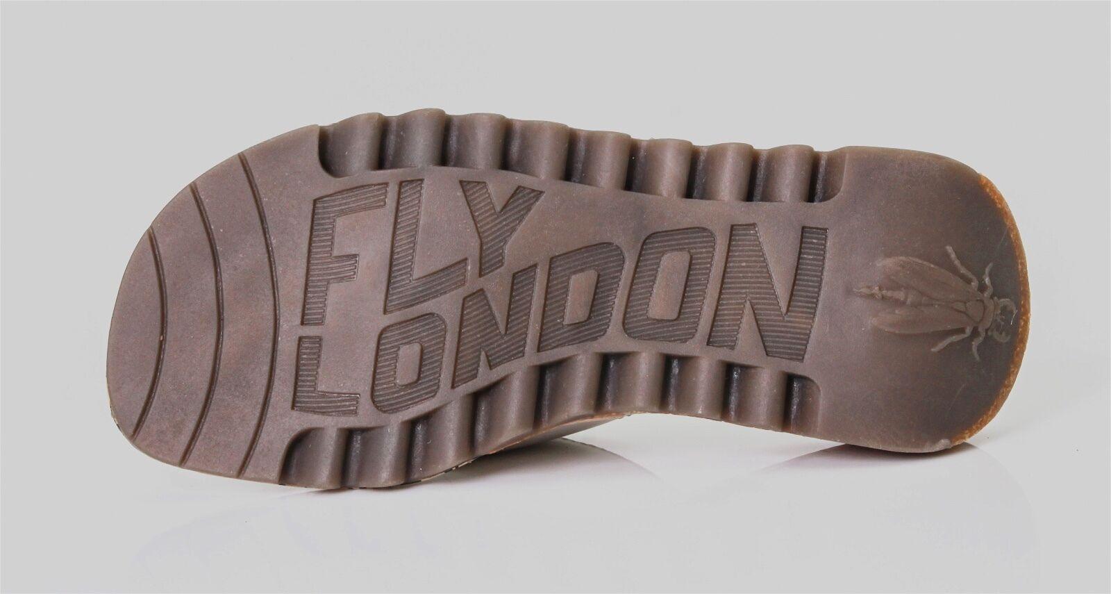 FLY London 7431 Women's Off White Trim Trim Trim Sandal Sz EU 39 0fe573
