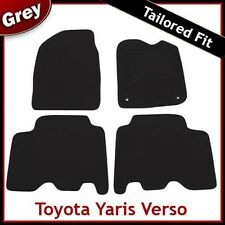 TOYOTA YARIS VERSO 1999-2005 Tailored Carpet Car Floor Mats GREY