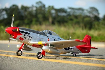 P-51D, Red Tail, V8, Plug N Play, Wingspan: 57 in (1450mm) Brushless RC  Airplane 635414723636   eBay