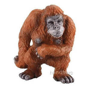 Collecta 88210 orangutan wild ape monkey gorilla toy figurine model nip ebay - Gorilla figurines ...