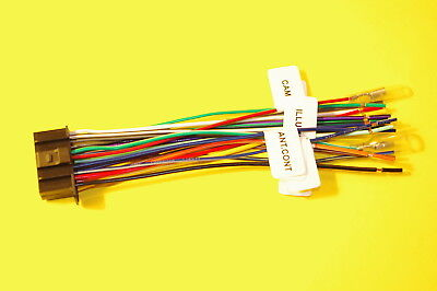 wire harness for kenwood ddx9703s dnx773s dnx893s dnx574s. Black Bedroom Furniture Sets. Home Design Ideas