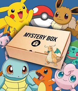 Boîte Mystère Pokémon !! Cartes JCC, Boosters, Coffrets, PCA, Goodies Etc...
