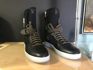 a54b9d467bdd2e NikeLab x Acronym Air Force 1 Downtown Hi SP Black Olive Nike 649941 ...