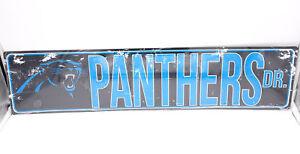 beefe7dc7 Image is loading Carolina-Panthers -DR-Licensed-NFL-Distressed-Street-Aluminum-