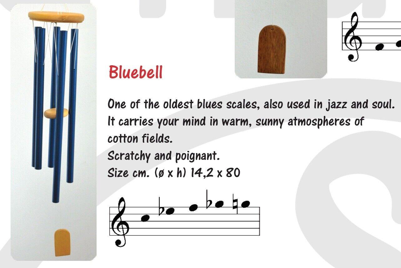 Sonus Mundi Meditation Relax Good Vibe Wind Chimes Bluebell Blues Scale Chime