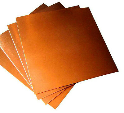 Copper Sheet - SOFT A4 SIZE 300mm x 240mm x 0.25mm - soft ART CRAFT FREE POST