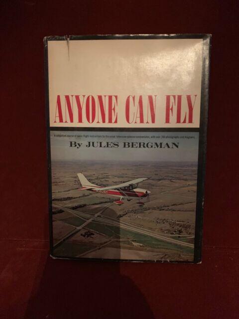 Anyone Can Fly By Jules Bergman 1964 HCDJ