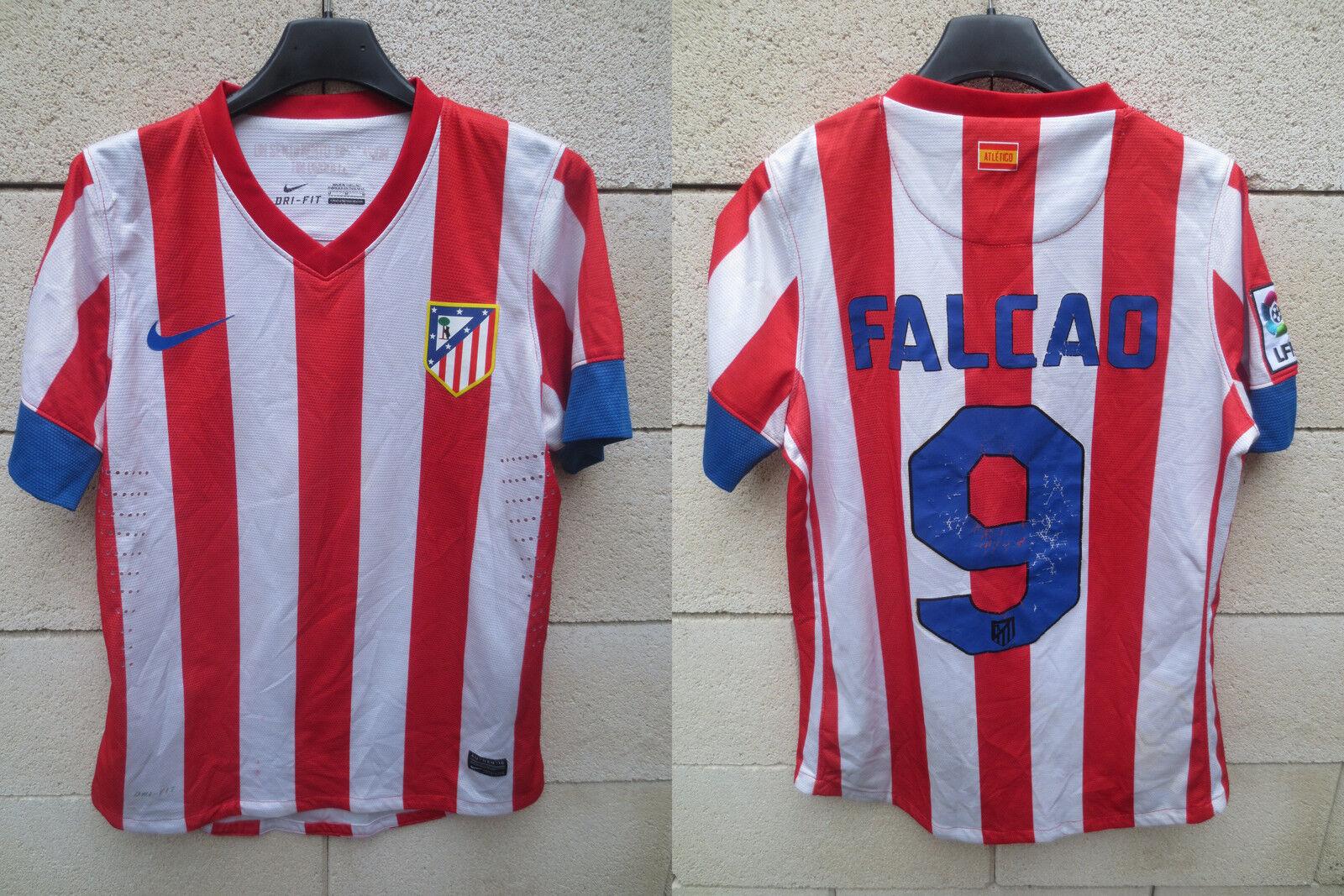 d467be1fe73 Maillot ATLETICO MADRID 2013 NIKE camiseta FALCAO n°9 jersey shirt football  M