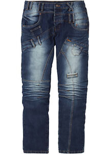 Herren-Jeans-Relax-Used-Optik-blau-blue-70-Baumwolle-Groesse-30-bis-44-neu-44005