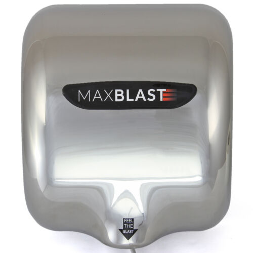 MAXBLAST Hand Dryer Strong Fast Commercial Heavy Duty Automatic Warm Air Drying