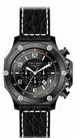 Luxus Chronograph -cavadini Uhr Extravagan Ion Schwarz Plattiert Neu Kollektion