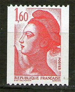 TIMBRE-N-2192-NEUF-XX-LUXE-LIBERTE-ROULETTE