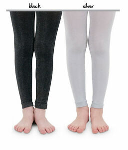 7de6a3dbf7ad0 Image is loading COUNTRY-KIDS-and-JEFFERIES-Sparkly-Footless-Tights-Bling-
