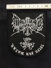Wolf notte-STEMMA ricamate/patch (Varg, morti Castello, BLACK METAL COLLEZIONE)