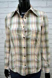 Camicia-a-Righe-Donna-MARLBORO-CLASSICS-Taglia-XS-Manica-Lunga-Shirt-Woman