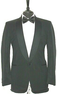 Luxury Mens Austin Reed Dinner Tuxedo Shawl Collar Suit Jacket 40r Ebay