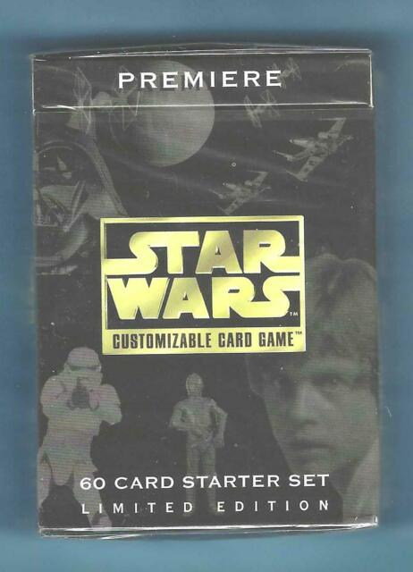 Starwars Customizable Card Game Premiere 15 Cards Decipher