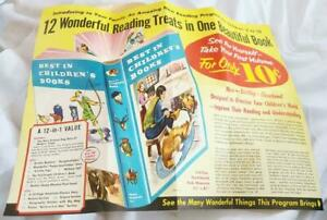 1959 Best in Childrens Books Flyer 12-in-1 Value w Envelop