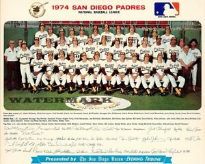 MLB-1974-San-Diego-Padres-Color-Team-Picture-8-X-10-Photo-Picture
